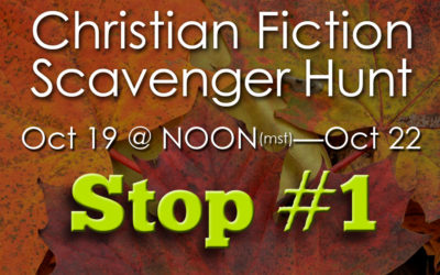 Christian Fiction Scavenger Hunt Stop #1
