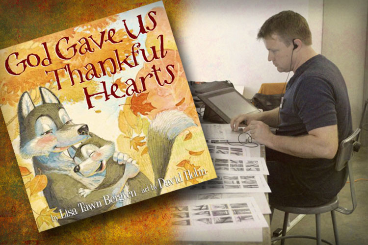 God Gave Us Thankful Hearts Sneak Peek!