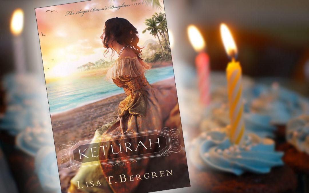 It's KETURAH's Book Birthday!