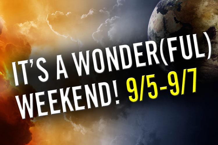 REMNANTS WONDER(ful)-WEEKEND!