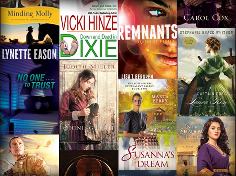 Christian Fiction Scavenger Hunt Prizes