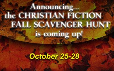 Fall Christian Fiction Scavenger Hunt