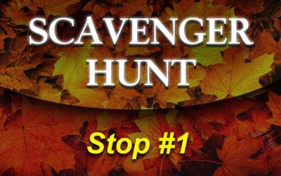 Christian Fiction Scavenger Hunt Stop #1