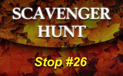 Christian Fiction Scavenger Hunt Stop #26