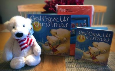 Win a Kindle Fire 4 Kids & Stuffed Bear!