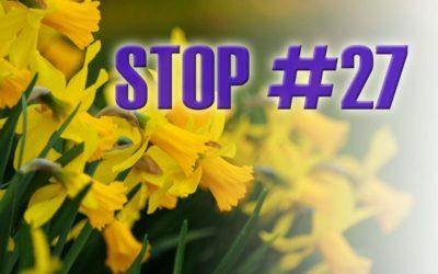 Scavenger Hunt Stop #27