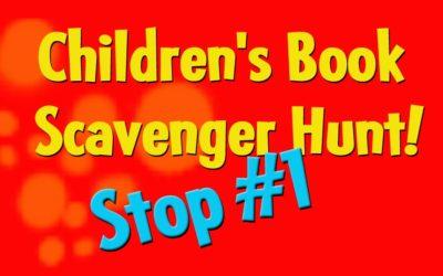 Children's Book Scavenger Hunt Stop #1